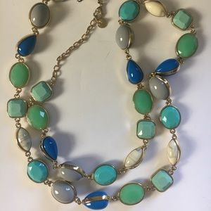 Talbots long beaded necklace